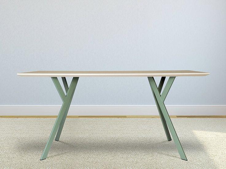 Tavolo da salotto rettangolare Typus by WILDE+SPIETH Designmöbel design Alexander Nettesheim, Heidi Edelhoff