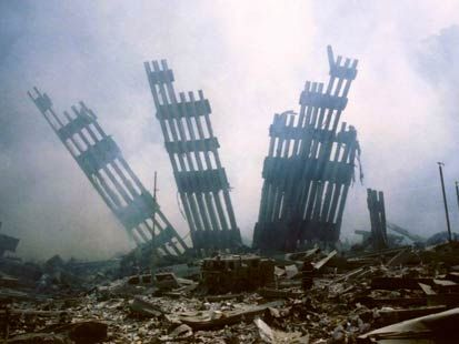 9/11 aftermath.  This is my single favorite picture capturing the terror and sorrow
