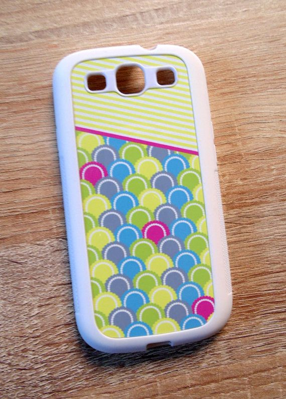 Pearly Scales mobile phone cases Samsung S3 and by JLWIllustration, £10.00