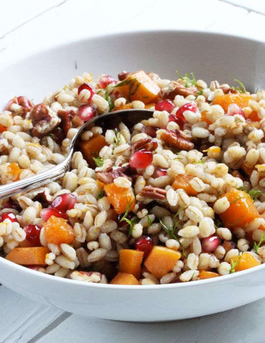 Recipe: Warm Pumpkin & Pearl Barley Salad