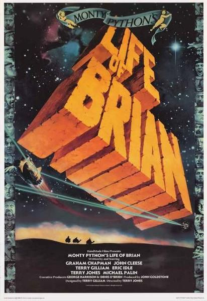 A fantastic poster from the classic comedy movie of Biblical proportions - Monty Python's Life of Brian! Published in 2002. Fully licensed. Ships fast. 24x36 inches. Check out the rest of our fun sele