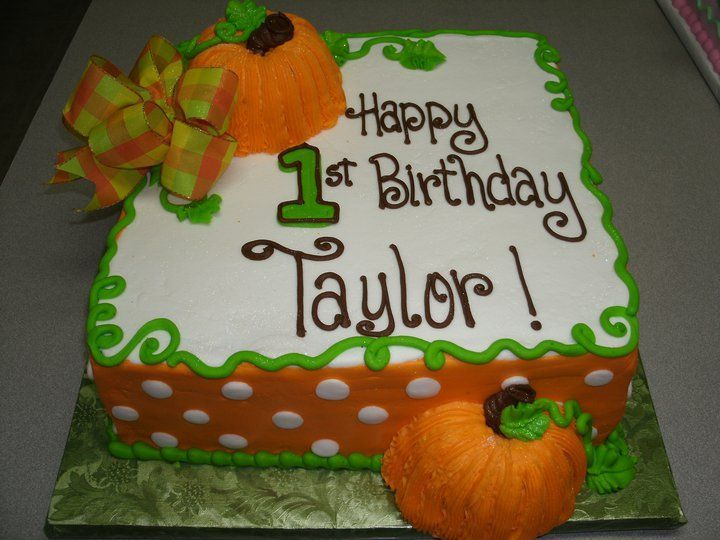 Fall Decorated Birthday Cakes images