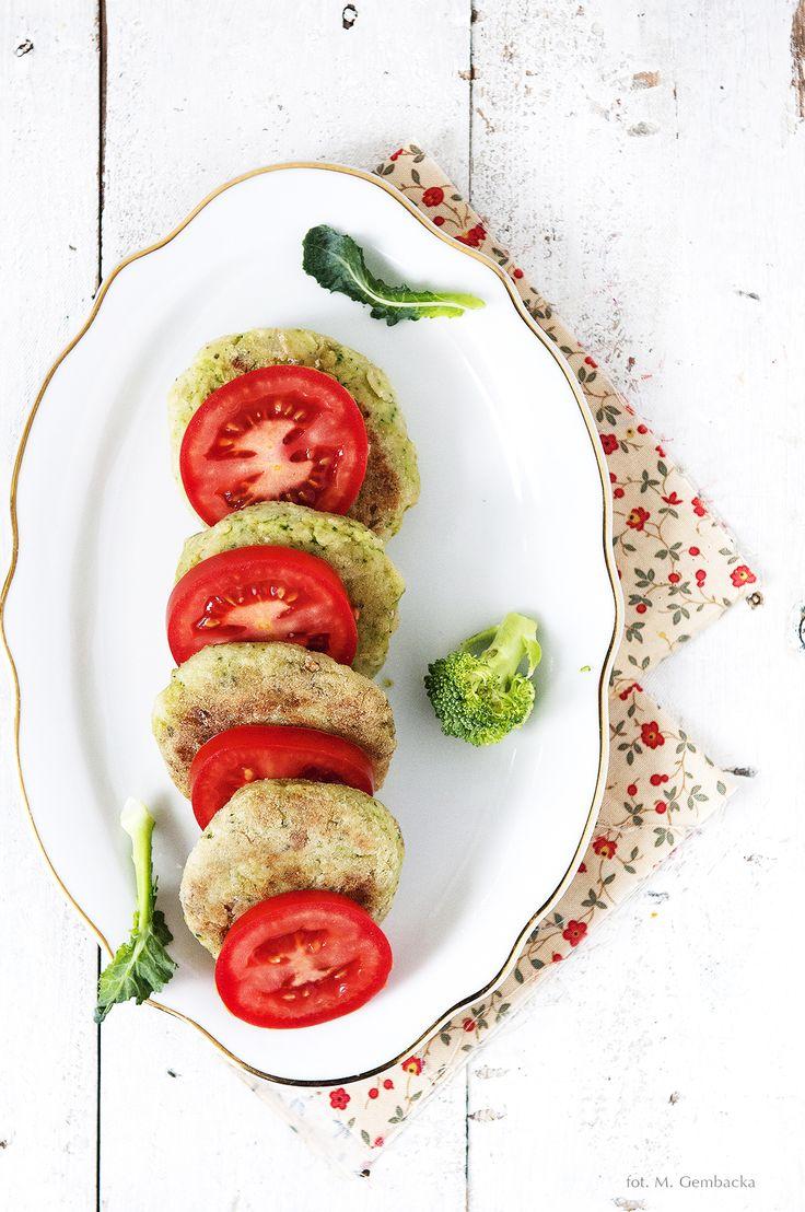 broccoli @ potatos patties