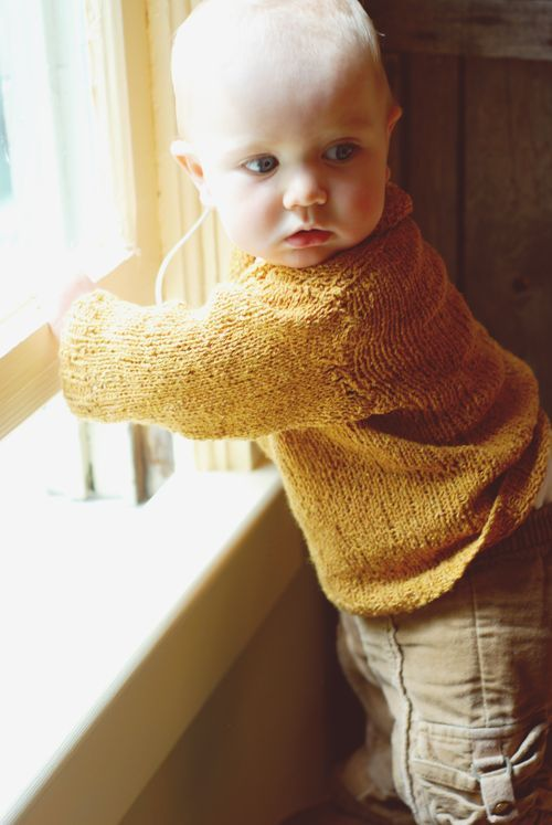 Oh! Handsome baby sweater