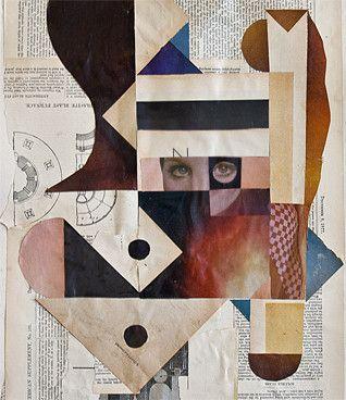 John Whitlock: Sex Furnace, 2012 www.kidsofdada.com/products/sex-furnace-2013 #art #geometric #collage