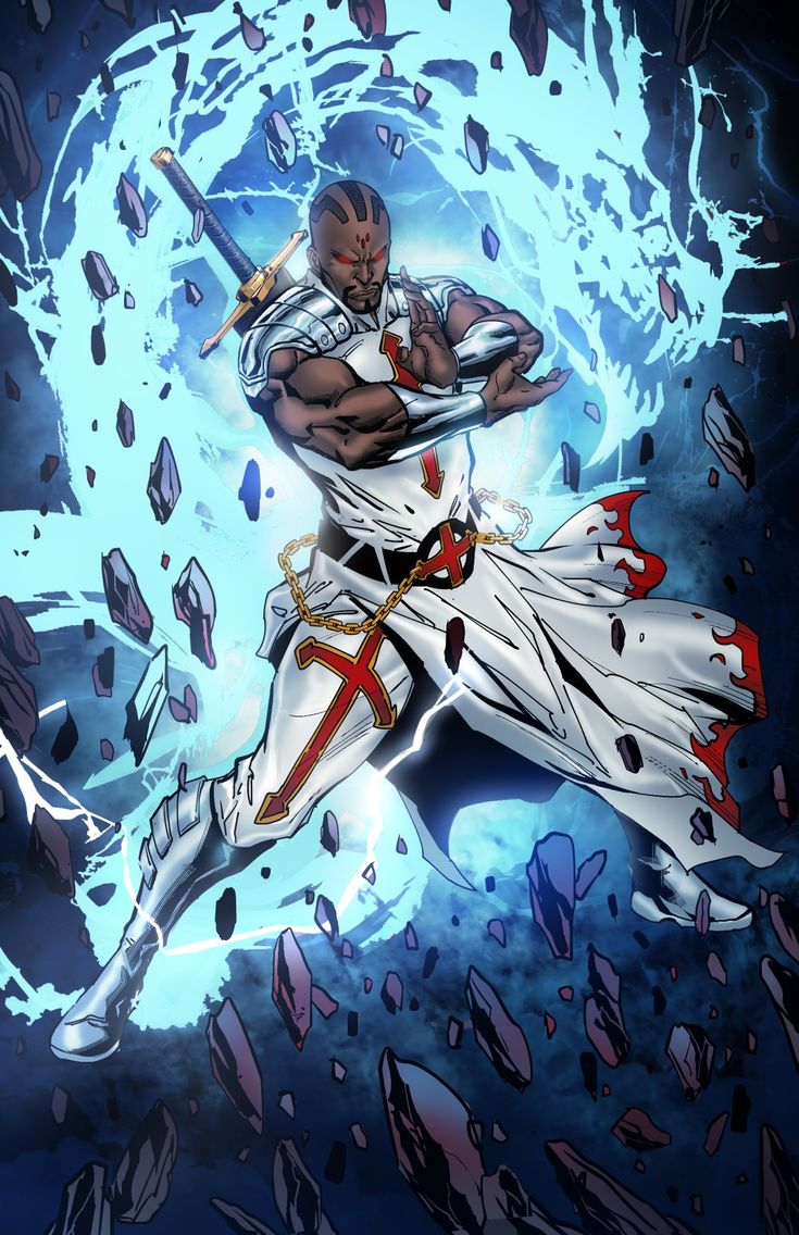 Sacred VASION Ally Blade blade Black anime characters