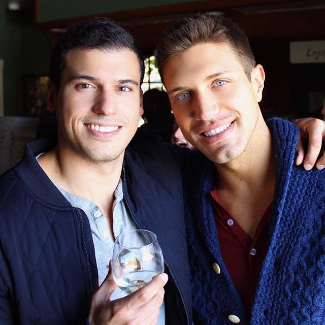 Happily married gay couple Gio  Benitez and Tommy DiDario