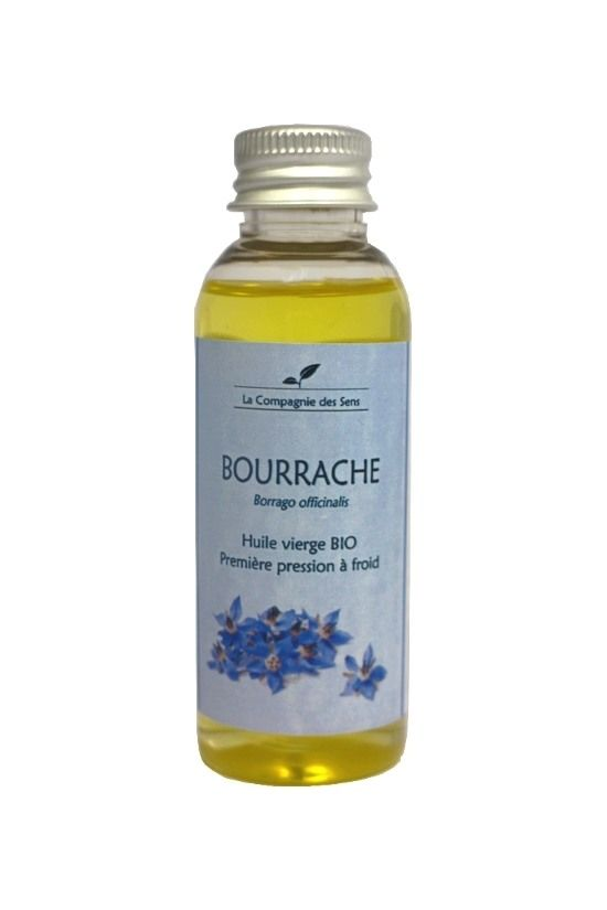 Oubliez vos rides avec l'huile végétale de Bourrache BIO