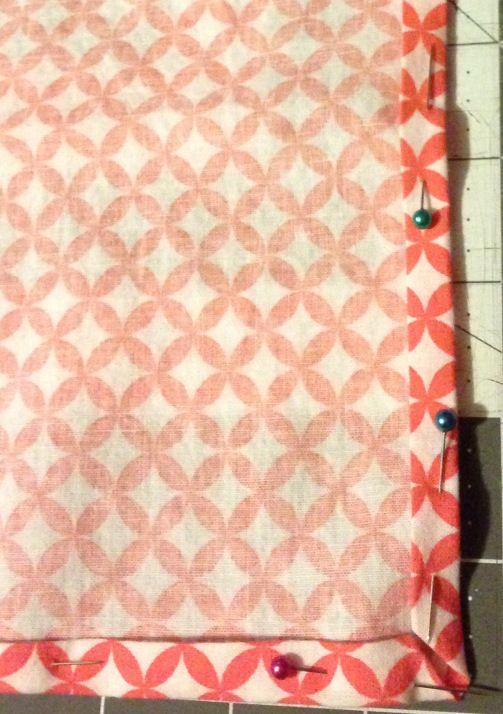 Easy DIY napkins @Leadersews