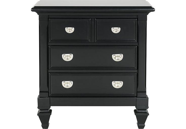 Best 25 Black Nightstand Ideas On Pinterest