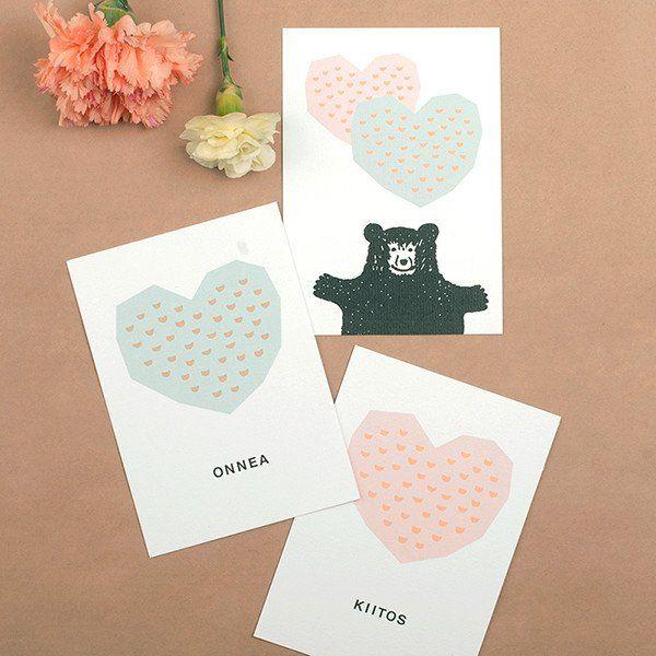 "A6 Kaviva Graphics ""Ystävyys/Friendship"" Post Card Set"