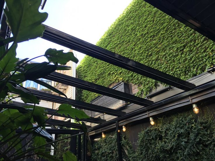 Beautiful Lchi Ni Nana Is A New Japanese Restaurant In Fitzroy Melbourne Australia.  It Features A Libart SolaGlide Glass Retractable Roof With Excellent  Acoustic And