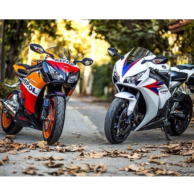 Nothing like a couple Honda CBR 1000RR's