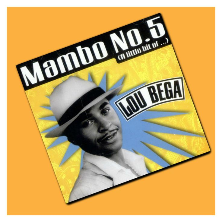 Mambo No. 5 (A Little Bit of...) by Lou Bega #LouBega #mambo #Pop #PopMusic #Music #singer #songwriter