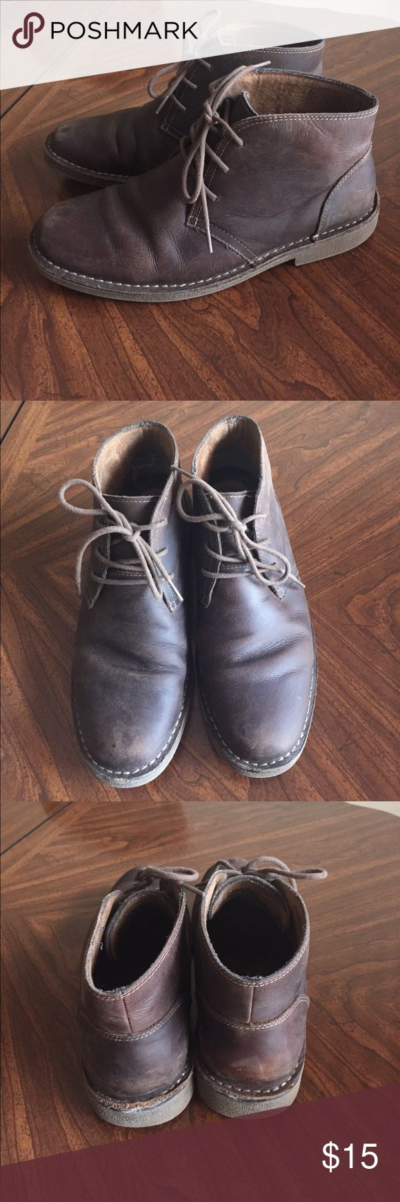 Men's Dockers brown leather chukka boots Men's Dockers brown leather chukka boots Dockers Shoes Chukka Boots