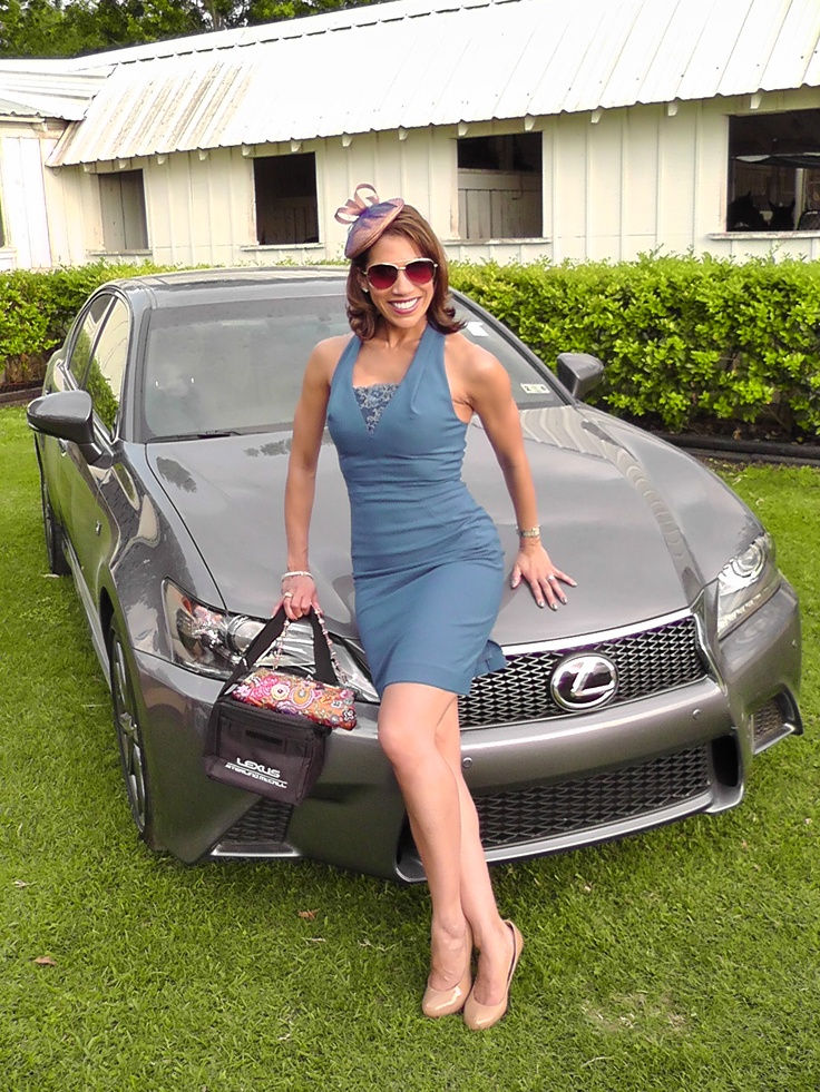Javits Center Car Show >> KPRC channel 2 Houston's own Rachel McNeill and the Lexus ...