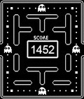Concept for PAC-MAN Pebble watch face, on forums.getpebble.com