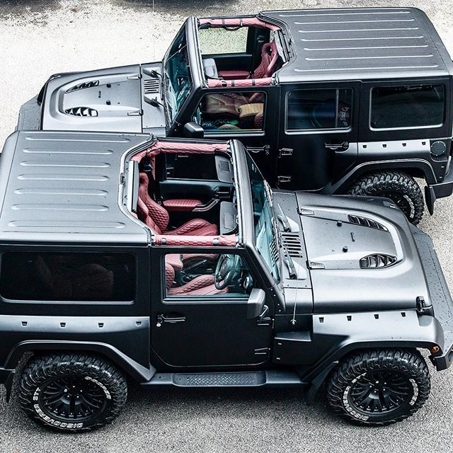 Black Hawk Edition (wide body) - available in 2 and 4 door models! .nothing like it in the world. The Original.  New vehicle prices: 2 Door £49,999 4 Door £52,999  Choice of satin exterior and interior colours. www.chelseatruckcompany.com  Please follow @chelseatruckco  @jeepbeef @jeep_addiction @jeepofficial @jeeppage  #la #Australia #ny #kahndesign #chelseatruckcompany #afzalkahn #jeepwrangler #jeepbeef #jeeps #jeep #jeeplife #wranglerjeep #landroverdefender #rubicon #jeeprubicon #harrods…