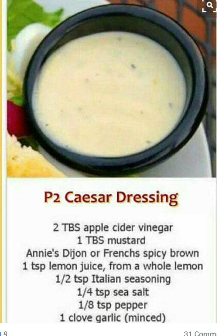Shape ceasar salad dressing