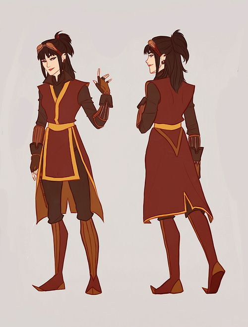 Avatar: The Last Airbender ~ Firebender (clothing reference)