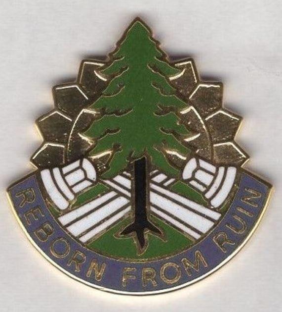 365th Civil Affairs Brigade crest