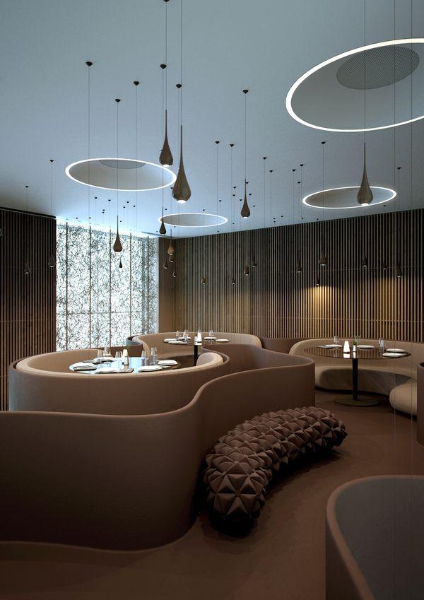#restaurant, #modern, #interior design