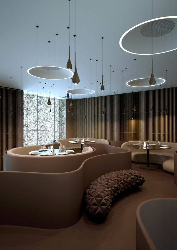 #restaurant, #modern, #interior design