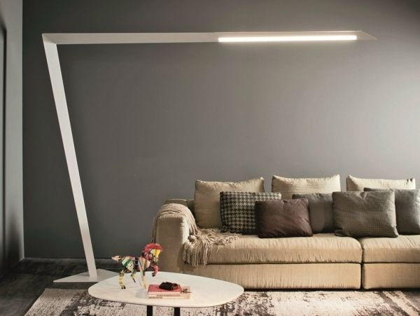Die besten 25+ Stehlampen modern Ideen auf Pinterest Moderne - moderne wohnzimmer stehlampe