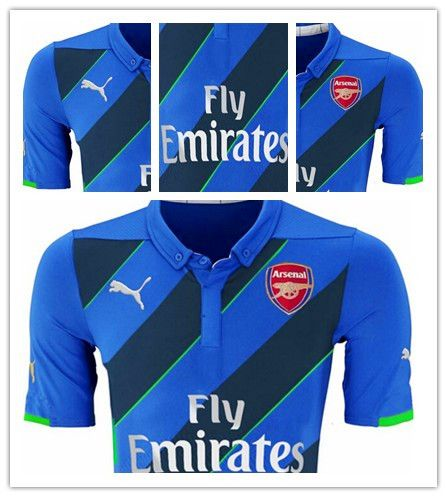 802f1c02f4a ... leaked Arsenal Puma third soccer jersey for 2014 2015. it is said based  on the ...