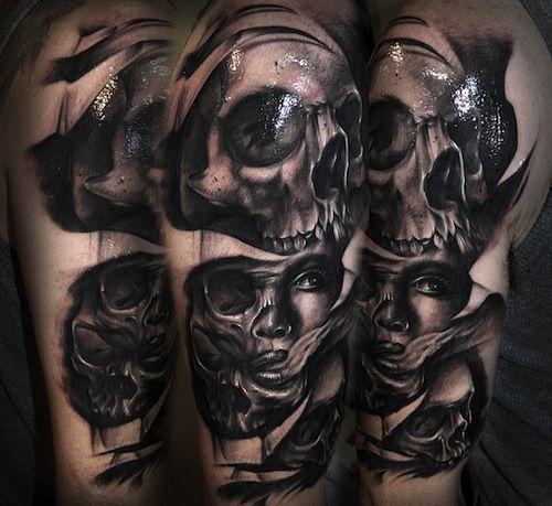 Skull Jaw Tattoo: 41 Best Skull Jaw Tattoo Designs Images On Pinterest