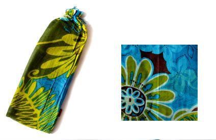 Pareo Botánico. 100% algodón. Pareo Veracruz Collection, con bolsa para guardar. Puedes usarlo también como bufanda. Visítanos en tuakiti.com #bufanda #scarf #pareo #beachwrap #tuakiti