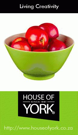 This beautiful green nature's bowl is made from bamboo and perfect for salads, fruits and snacks. They are available from House of York from only R79.95 each. #bamboo #bowl #kitchen #houseofyork