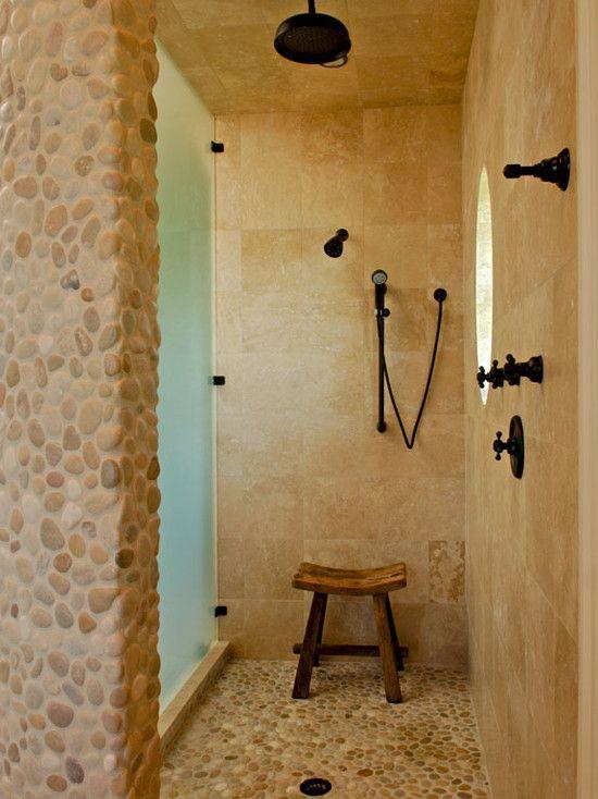 1000 Ideas About Pebble Shower Floor On Pinterest