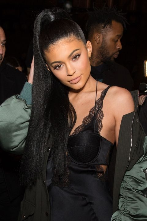 *.* Kylie Jenner Works A High Ponytail During New York Fashion Week, 2016