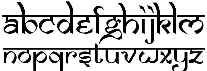 the best desi-english font Samarkan