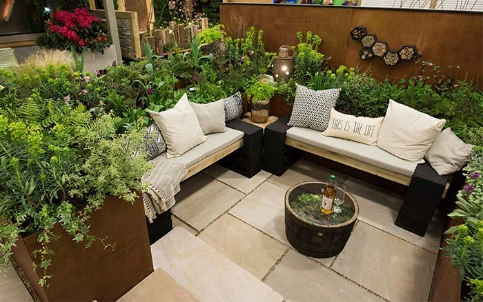 Best Small Garden Design Ideas From The Young Gardeners Competition In 2020 Patio Garden Ideas Uk Backyard Seating Area Small Garden Design