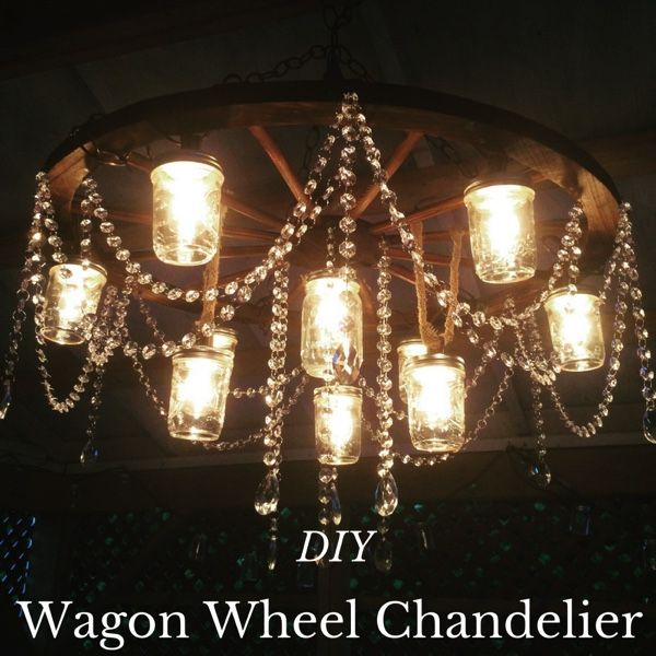 Items you will need:   Edison String Lights --You can use any string of lights. I just chose this one for the style it added.   Wood W...