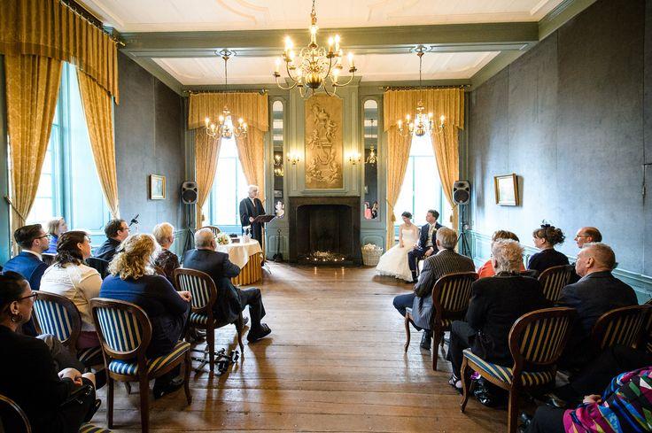 De Blauwe Salon op Kasteel Wijenburg