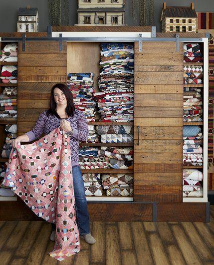 Tour Lisa Bongean's Home, Studio, and Warehouse | AllPeopleQuilt.com