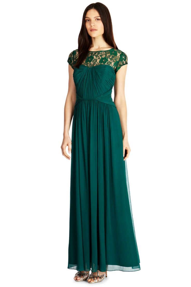 14 best my bridesmaids dresses and usher ideas images on shades of green 14 gorgeous green bridesmaid dresses for 2014 ombrellifo Gallery