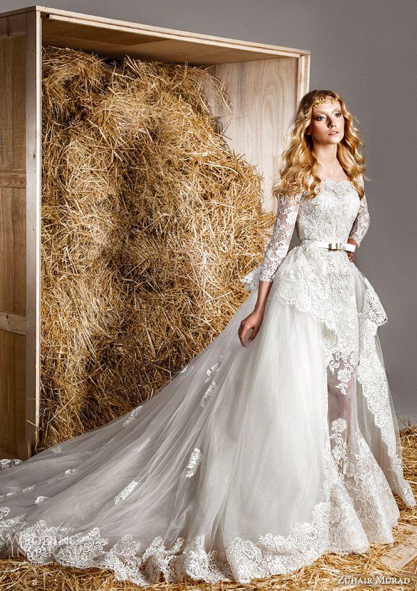 Zuhair Murad Bridal Spring 2015 Wedding Dresses   Wedding Inspirasi