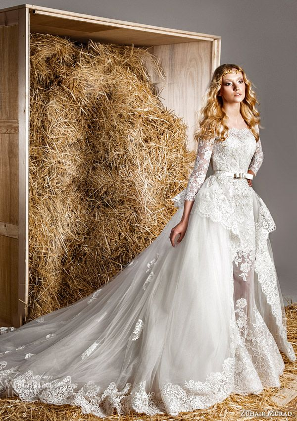 Zuhair Murad Bridal Spring 2015 Wedding Dresses | Wedding Inspirasi