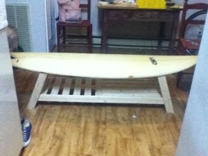 Wooden Plans Surfboard Coffee Table Plan PDF Download studio wall ...