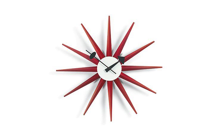 Nelson™ Sunburst Clock