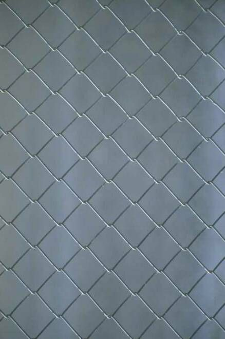 How To Paint A Chain Link Fence Painted Chain Link Fence