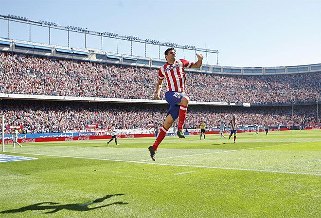 Diego Costa puso de nuevo el Calderón a sus pies. Otro partidazo y otros dos goles.