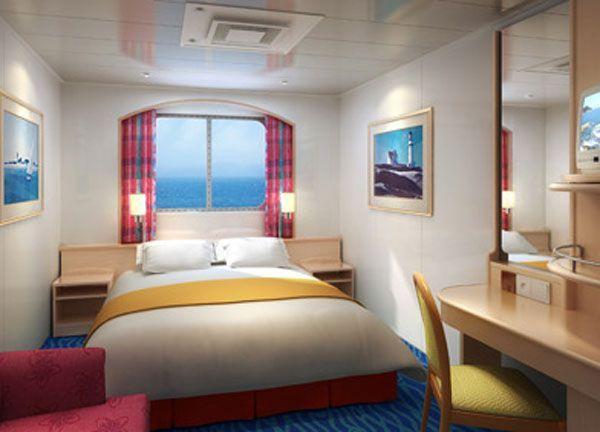 Norwegian Sky Oceanview Cabin