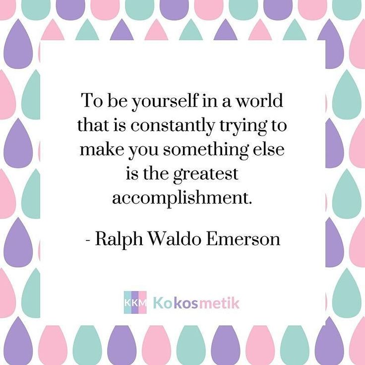 To be yourself in a world that is constanly trying to make you something else is the greatest accomplishment. - Ralph Waldo Emerson  #ralphwaldoemerson #accomplishment #beyourself #loveyourself #love #quote #beauty #beautiful #korean #kosmetik #cosmetics #koreancosmetics #cosmetic #koreancosmetics #cosmetic #kpop #skin #skincare #maske #mask #sheetmask #shop #haut