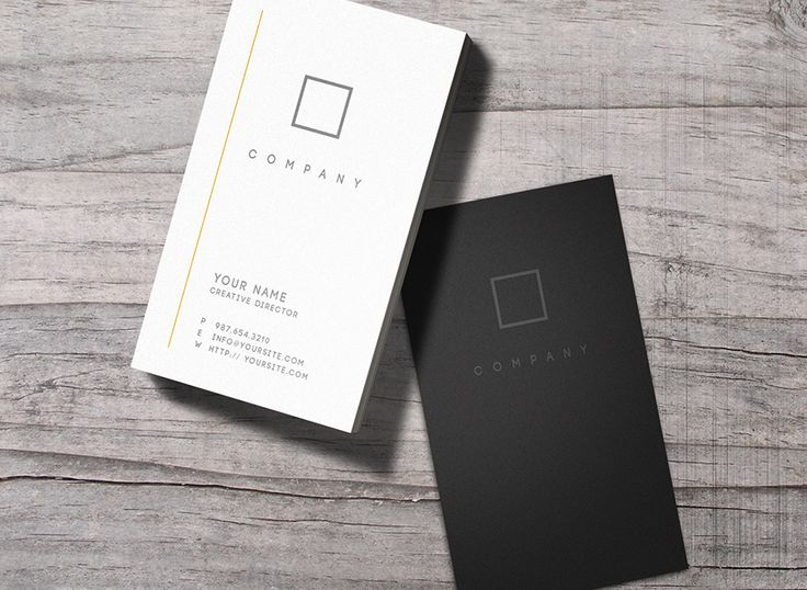 No.7 - Business Card by Macrochromatic on Creative Market