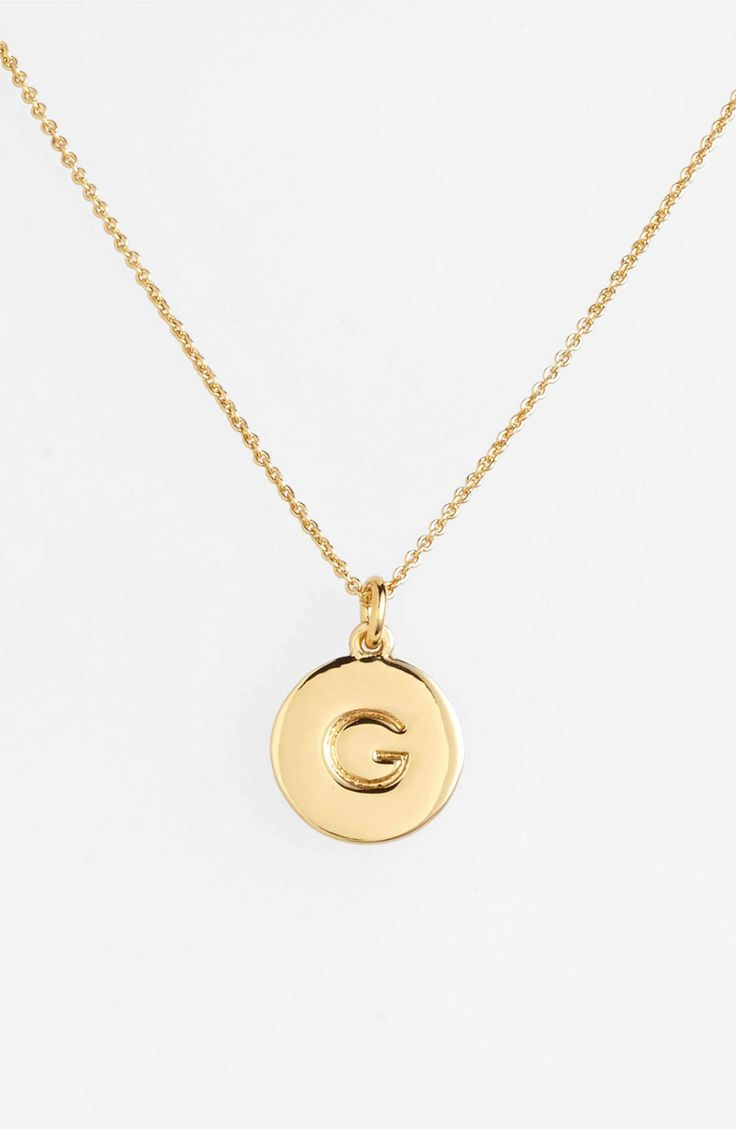 Main Image - kate spade new york 'one in a million' initial pendant necklace